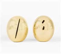 concetto spaziale [two works] by lucio fontana
